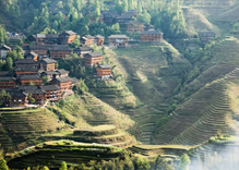 Guilin Longji Terraced Fields