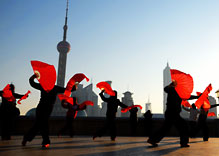 Dancing in the Bund