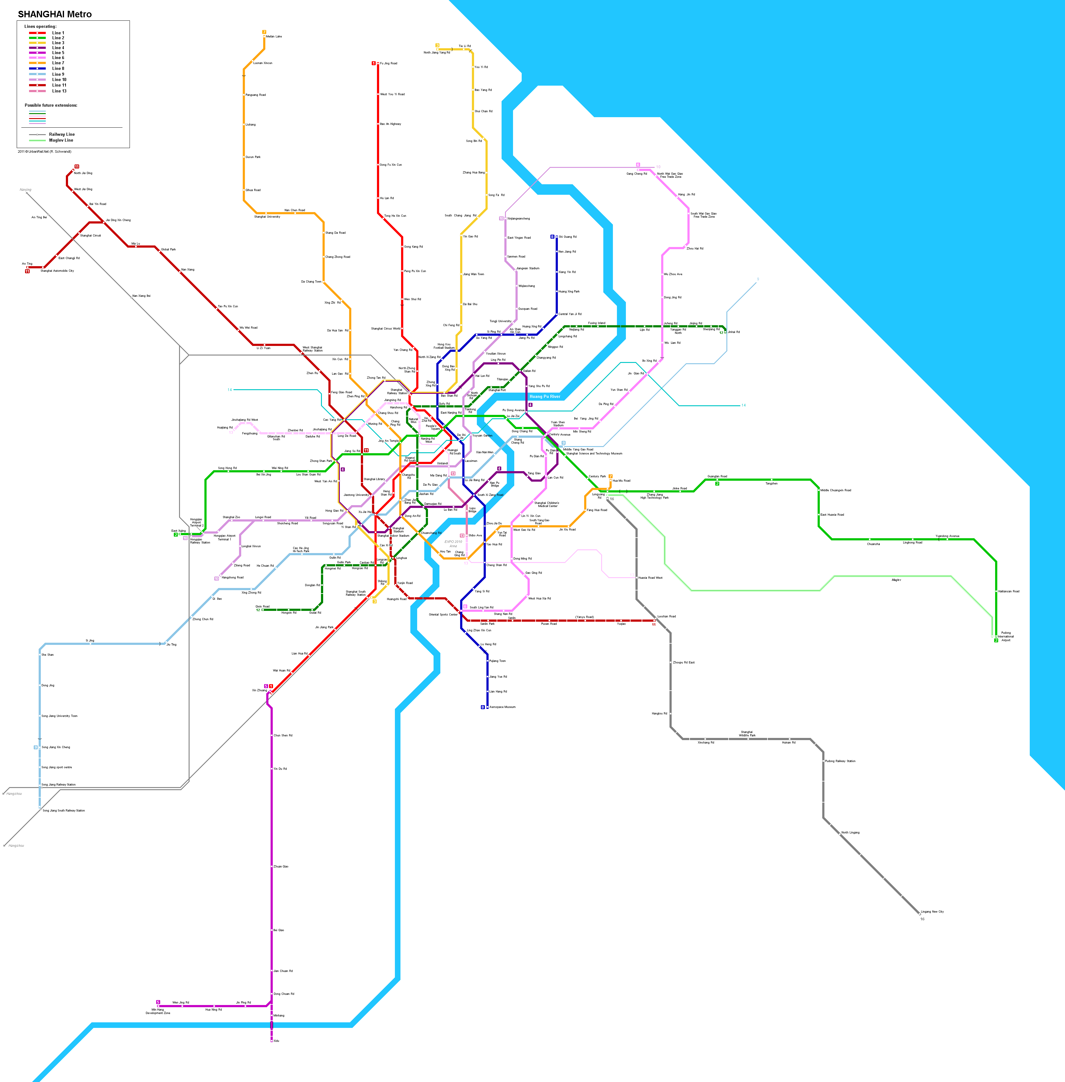 Subway Map Shanghai Tourist.Shanghai Subway Station Guide And Travel Tips