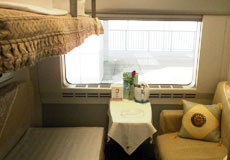 Deluxe Sleeper Train China