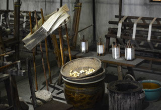 Ancient Tools for Silk Production